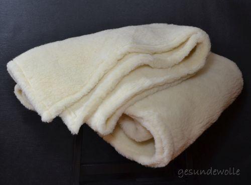 Kinder Wolldecke 100x140 aus 100/% Merino Wolle Tagesdecke